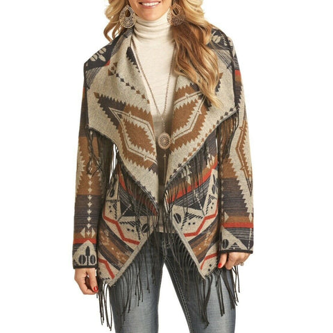 Panhandle Ladies Jacquard Aztec Jacket 52-2647
