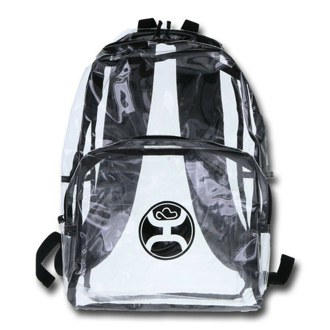Hooey Clear & Black Nitro Backpack Bag BP033BK