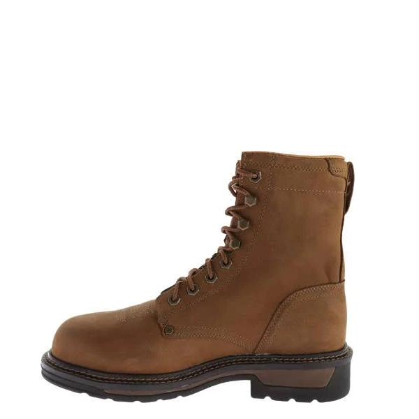 Twisted X Men's Brown Lace-Up Lite Weight Work Boots MLCSLM1