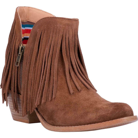 Dingo Ladies Jerico Whiskey Suede Fringe Boots DI133