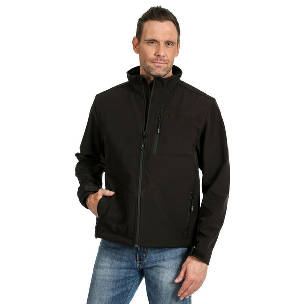 Wrangler­® Men's Black Concealed Carry Jackets MJK41BK