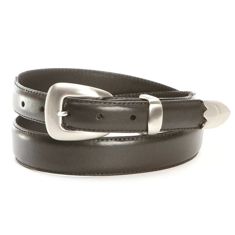 Nocona Men's Tapered Black Leather Belt N2427201