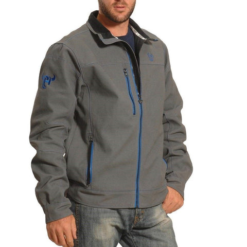 Cowboy Hardware Men's Grey & Blue Woodsman Jacket 191047-045