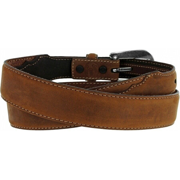Brighton Men's Brown Taper Dress Belt C70289