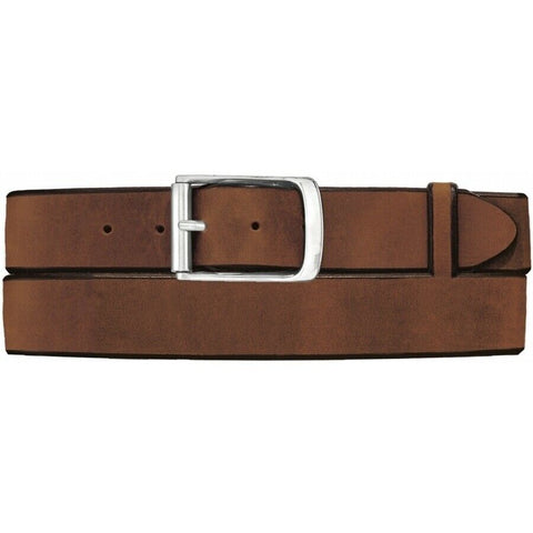 Tony Lama Men's Western Work Aged Bark Billy Bob Leather Belt C41319