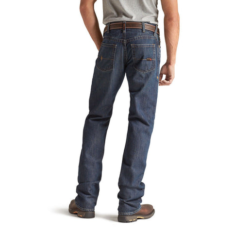 Ariat® Men's FR Flame Resistant Low Rise Boot Cut Jeans 10012555 - Wild West Boot Store