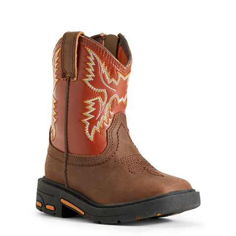 Ariat Toddler Lil' Stomper Chandler Workhog Boots A441000002
