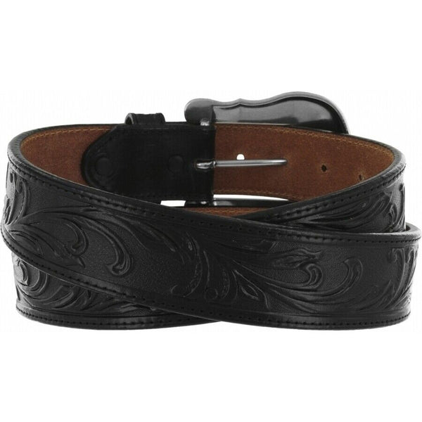 Tony Lama Men's Black Westerly Ride Belts C41513