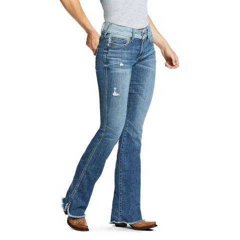 Ariat® Ladies R.E.A.L. Perfect Rise Stretch Boot Cut Jeans 10030252