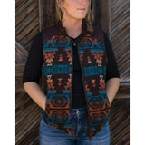 Outback Trading Company® Ladies Maybelle Western Sun Vest 29629-WSN
