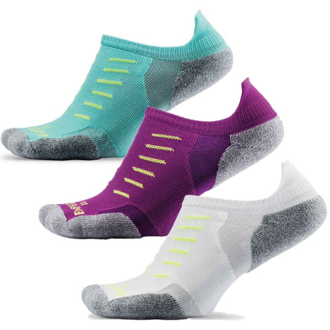 Experia Powered by Thorlo Unisex No Show Socks XCTU