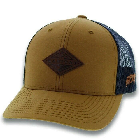 Hooey Blue Graphite Hat 6001T-TNBK