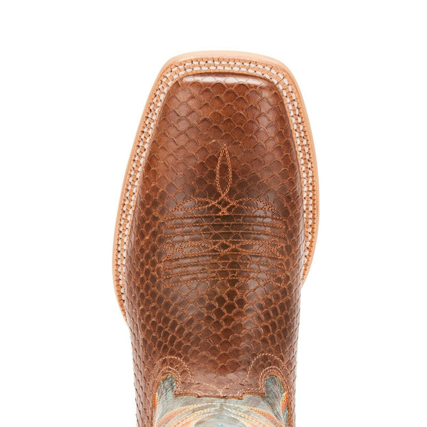 Ariat® Men's Range Boss Diamondback Tan & Cool Blue Boots 10025114