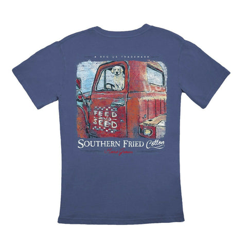 Southern Fried Cotton Workin' Like A Dog T-shirt SFM11308
