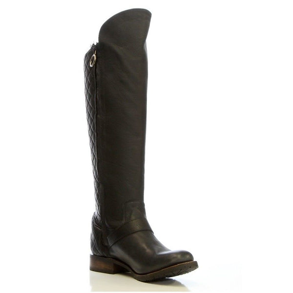 Justin Ladies Kiva Black Tall Boot MSL702 - Wild West Boot Store