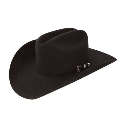 Resistol City Limits 6X Black Fur Felt Cowboy Hat RFVTLM-754007