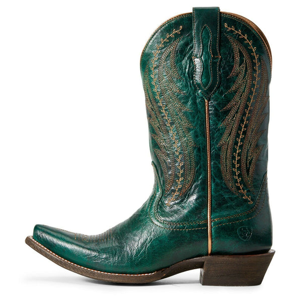 Ariat® Ladies Green Metallic Tailgate Western Boots 10029676