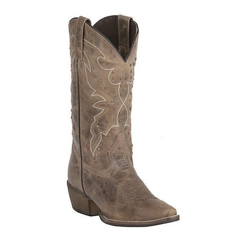 Rawhide by Abilene Ladies Earth Brown with Studs Boots 5029 - Wild West Boot Store