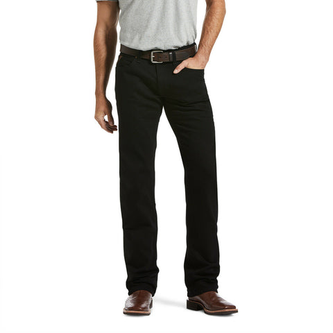 Ariat Men's Legacy M5 Stackable Black Straight Leg Jeans 10033516