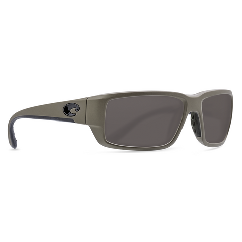 Costa Fantail Matte Moss Frame with Gray Lens Sunglasses TF-198-OGP