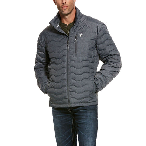 Ariat Men's Ideal 3.0 Charcoal Grey Down Insulated Jacket 10028423