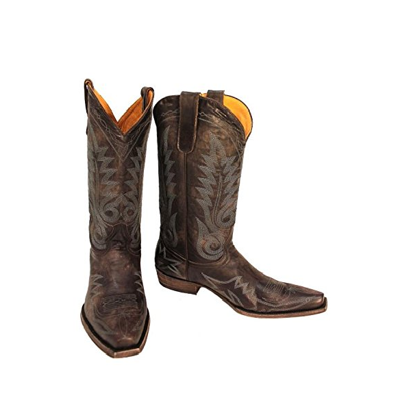 1be590888c6 Old Gringo Men's Nevada Chocolate Leather Boots M175-305