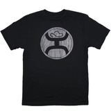 Hooey Men's 2.0 Reflective Logo Black Shirt HT1242BK