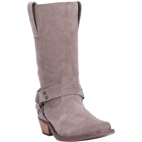 Dingo Ladies Taupe Harness Boots DI151