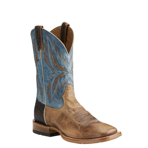 Ariat® Men's Arena Rebound Dusted Wheat & Heritage Blue Boots 10021679 - Wild West Boot Store