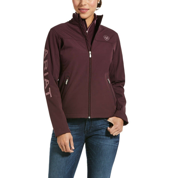 Ariat Ladies New Team Winetasting Heather Softshell Jacket 10032693