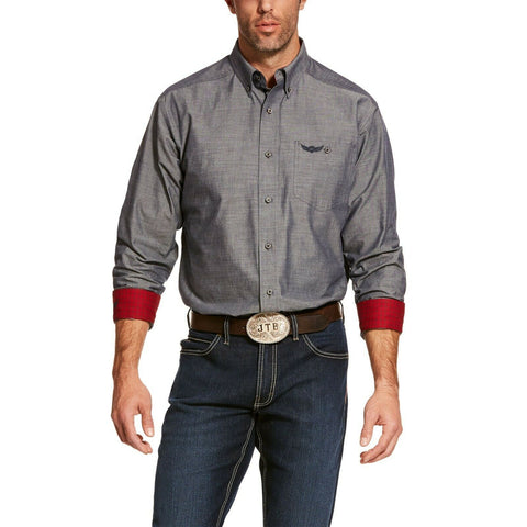Ariat® Men's Black Relentless Talent Stretch Shirt 10028709