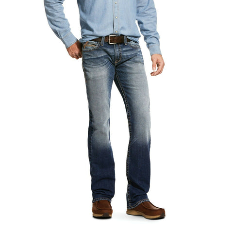 Ariat® Men's M7 Rocker Stretch  Stackable Straight Leg Jeans 10030236