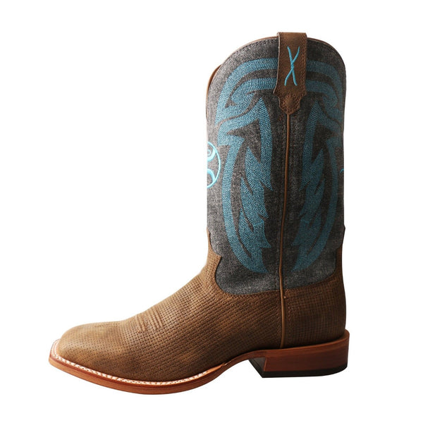 Twisted X Men's Hooey Denim Square Toe Cowboy Boots MHY0023