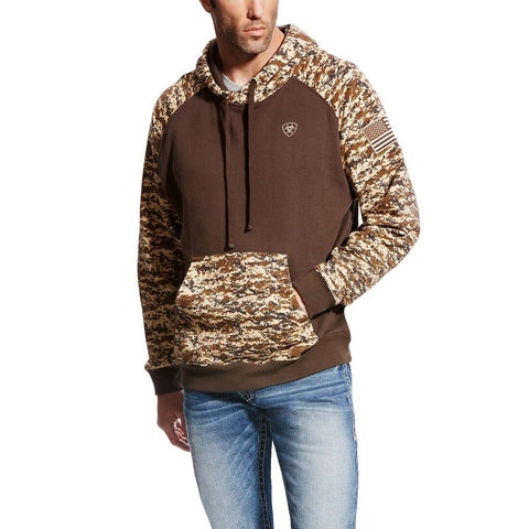 Ariat® Men's Patriot Desert Digital Camo Hoodie 10022684 - Wild West Boot Store