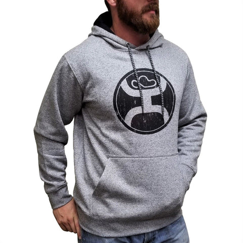 Hooey Men's Charcoal Gray Hoody HH020GY