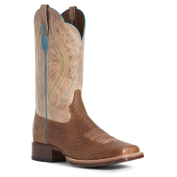 Ariat® Ladies Primetime Hollin Dragon Print Jackal Tan Boots 10027376 - Wild West Boot Store