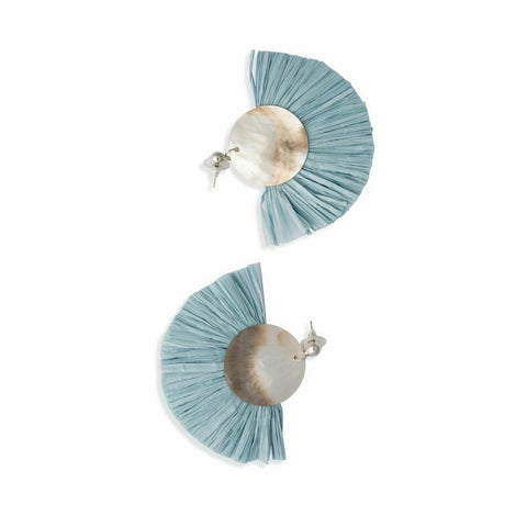 Myra Bag Turquoise Splendor Drop Earrings S-1778
