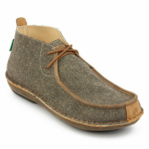 Tamarindo® Ladies Jetty Ash Grey Tweed & Leather Driving Mocs WTD0009