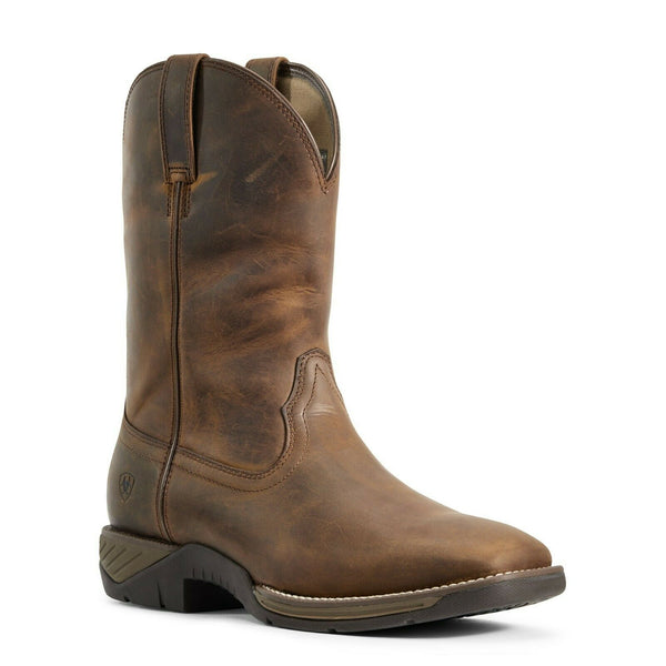Ariat Men's Distressed Brown Hybrid Ranch Work Boot 10029768