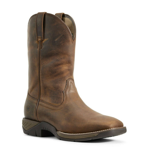 Ariat Men's Distressed Brown Hybird Ranch Work Boot 10029768