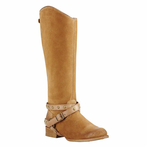Ariat® Ladies Manhattan Soho Sand Brown Tall Boots 10018630 - Wild West Boot Store