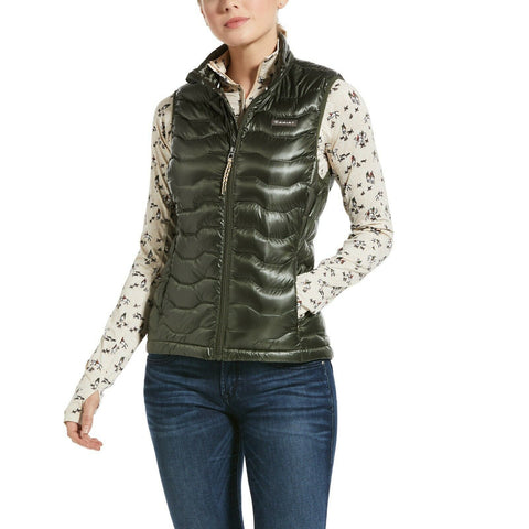Ariat® Ladies Ideal 3.0 Down Insulated Prairie Quilted Vest 10032642