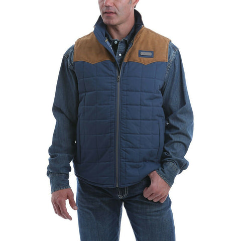 Cinch Men's Quilted Polyfill Full Zip Vest MWV1096003
