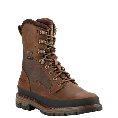 "Ariat Men's Dark Brown Conquest 8"" GTX 400G With Rand Boots 10018429"