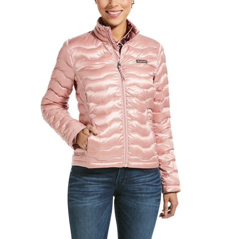 Ariat® Ladies Ideal 3.0 Packable Down Insulated Blush Jacket 10032648