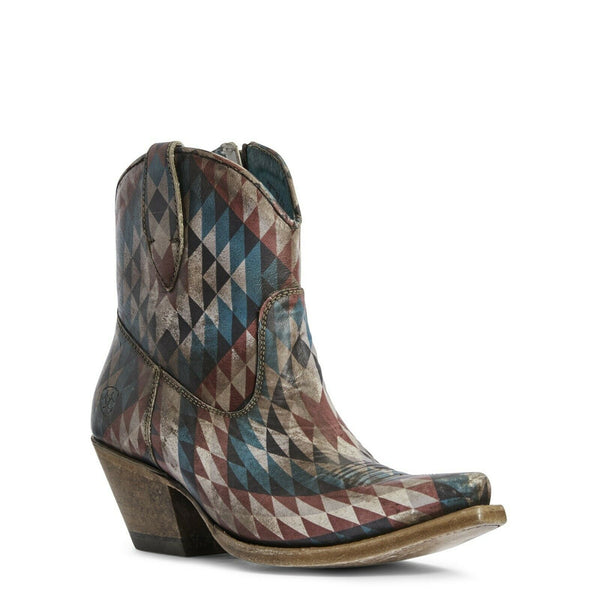 Ariat® Ladies Circuit Cruz Eye Dazzler Aztec Distressed Boots 10031476