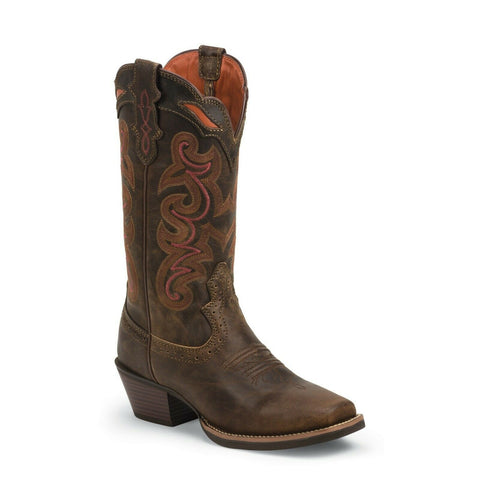 Justin Ladies Sevana Coffee Brown Boots SVL7319