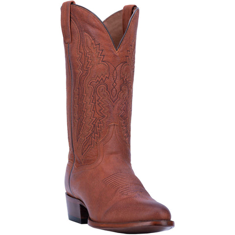 Dan Post Men's Miller Brown Round Toe Boots DP3363