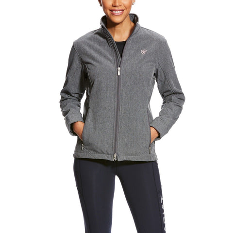Ariat® Ladies AriatTEK Journey Charcoal Grey Softshell Jacket 10025823 - Wild West Boot Store