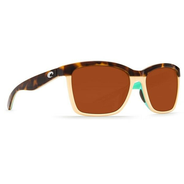Costa Anaa Cream & Mint w/ Copper Plastic Lens Sunglasses ANA 105 OCP